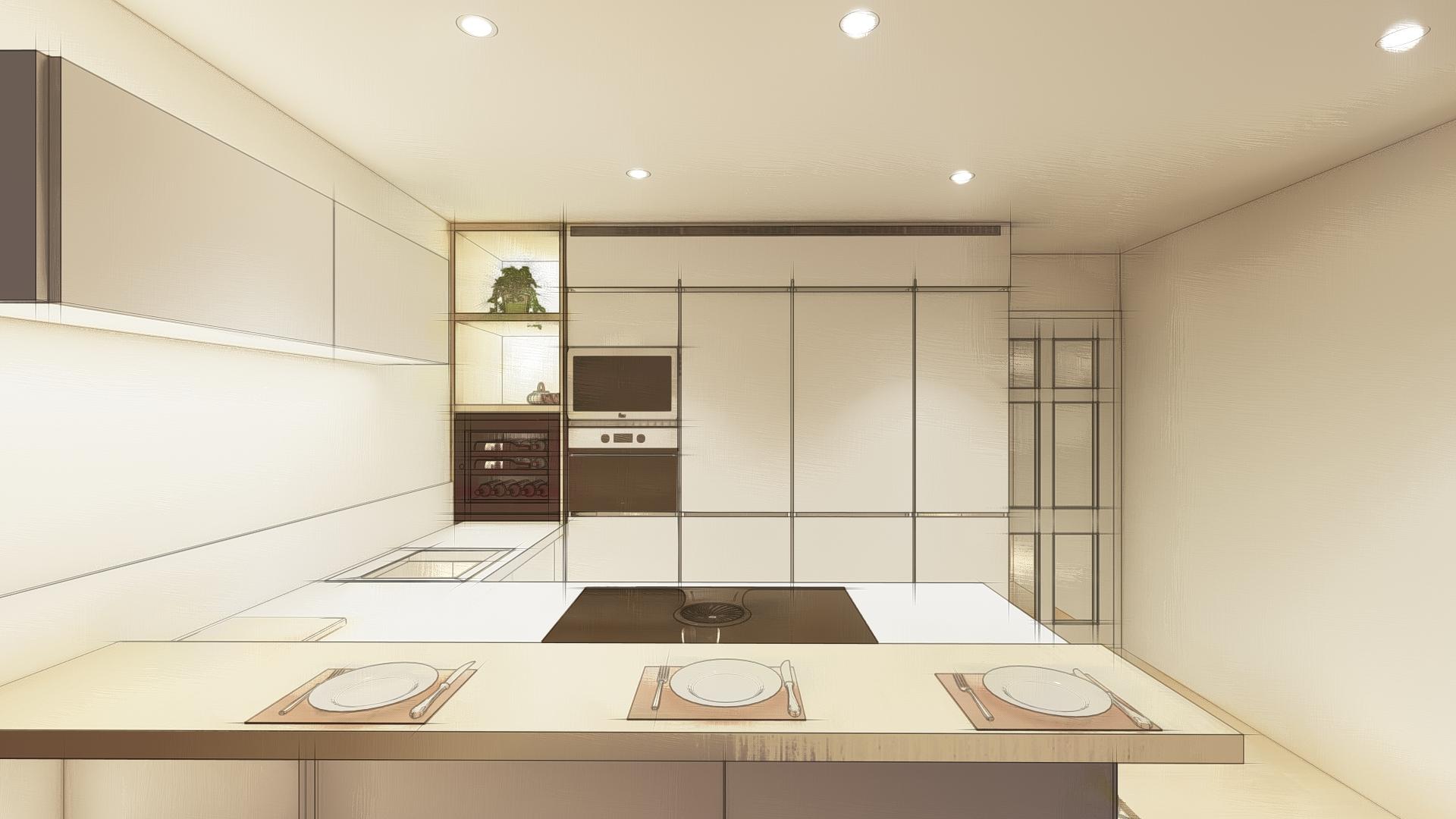 Diseño de cocina y gestión con proveedor en Jerez