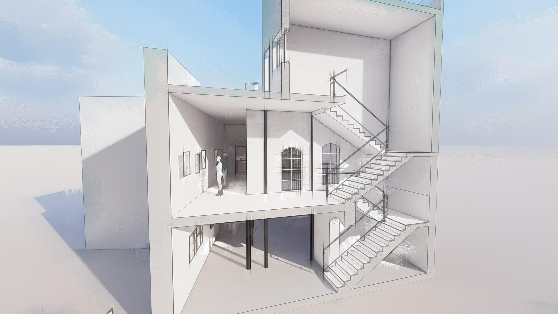 Proyecto ejecución rehabilitación de edificio en Jerez