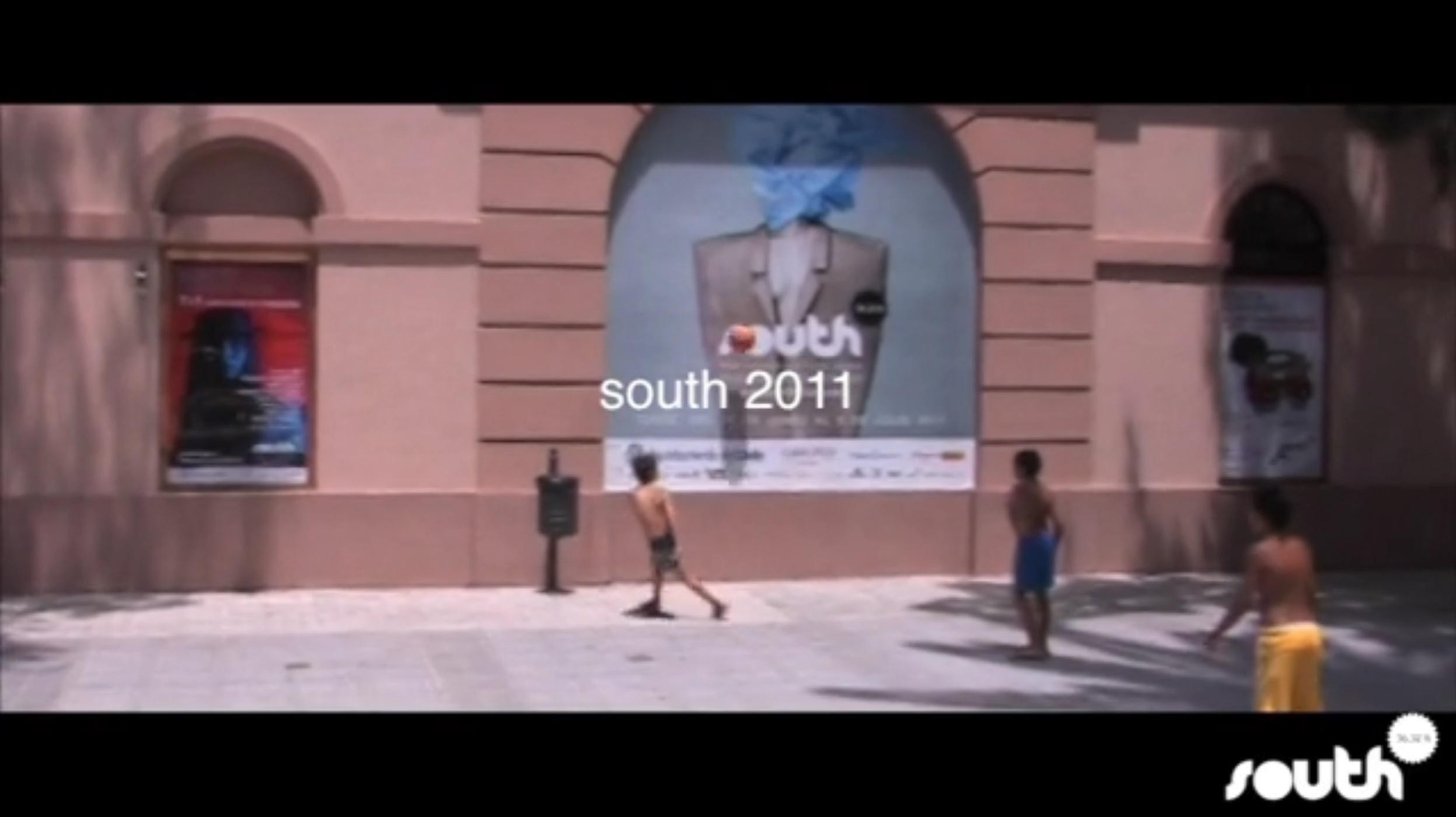 Realización del reportaje para el evento de moda South 2011