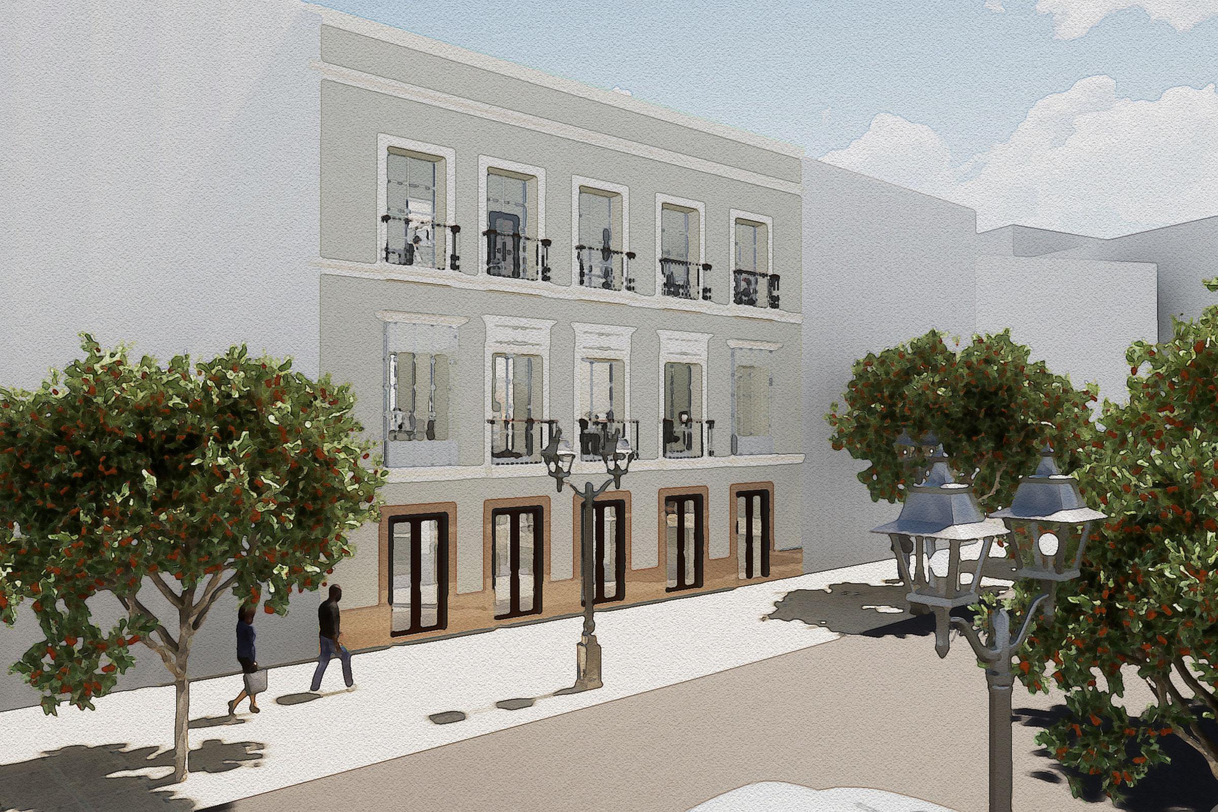 Propuestas de usos para rehabilitación de edificio en Jerez