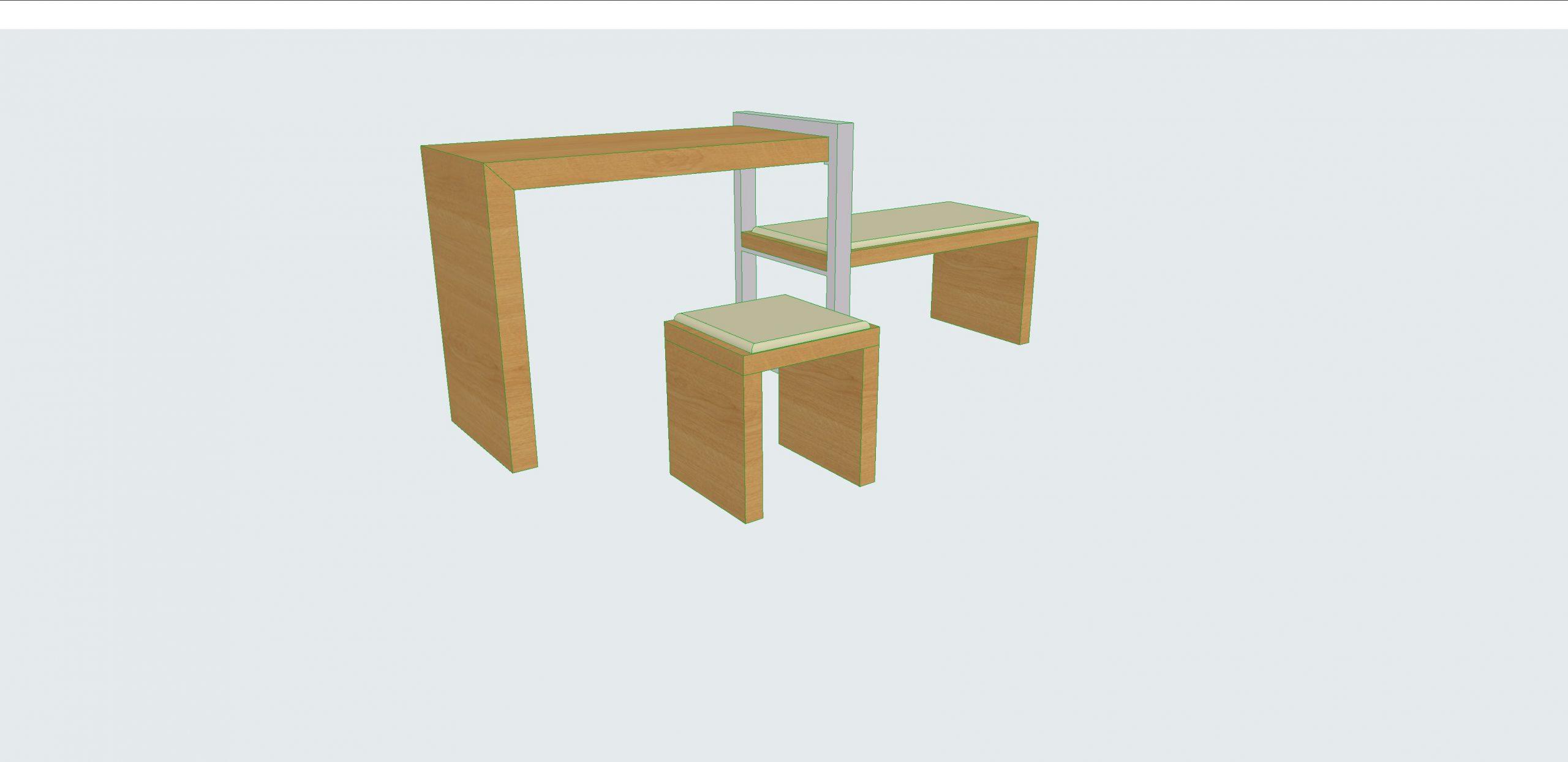 Diseño de mobiliario para un hotel en Jerez